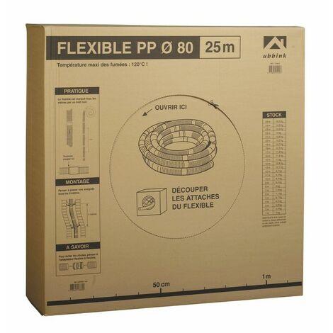 Conduit Ø80 PPTL flexible (X 50) - UBBINK : 330048