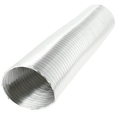 Conduit aluminium étirable M0 longueur 3,00ml - O125