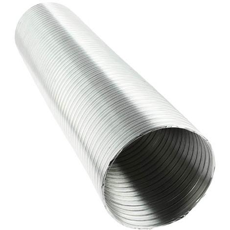 Conduit aluminium étirable M0 longueur 3,00ml - O150
