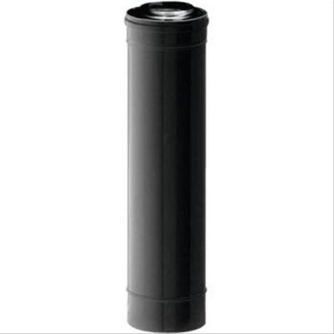 Conduit Bioten double paroi Inox Diam80/125mm L=téléscopique