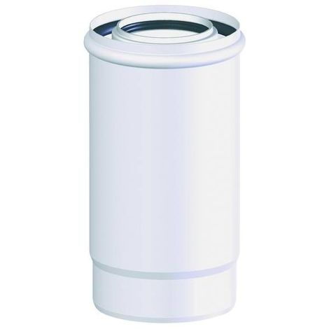 Conduit concentrique ventouse : Tuyaux 250mm diam int 60/diam ext 100 - ISOTIP joncoux 791406