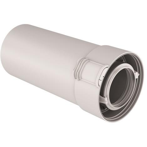 Conduit condensation gaz/fioul PPTL/PP Sekurit 60/100 - Ubbink - Longueur 500mm