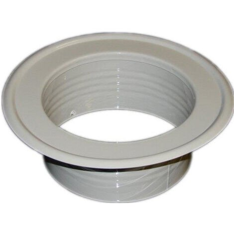Conduit de ventilation métallique et le tuyau se terminant jusqu'à complet préopératoire élément de masquage 200mm de diamètre