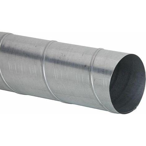 Conduit de ventilation NW125 x 2,00m a nervure