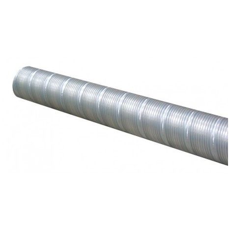 Conduit flexible acier galvanisé T 355 AF - 355mm - 3m