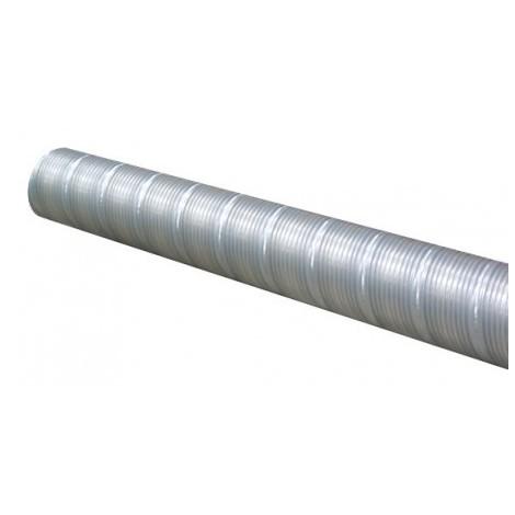Conduit flexible acier galvanisé T 400 AF - 400mm - 3m