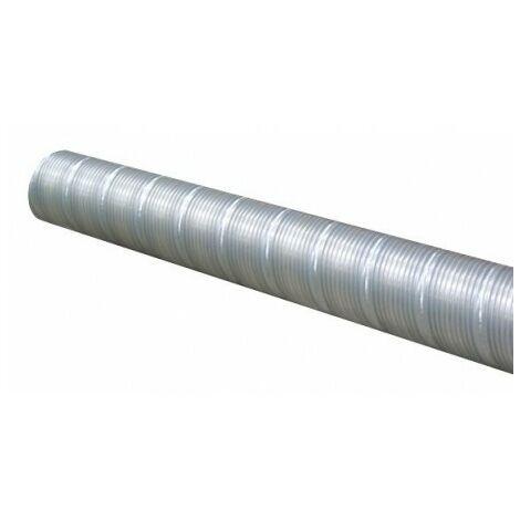 Conduit flexible acier galvanisé T 80 AF - 80mm - 3m