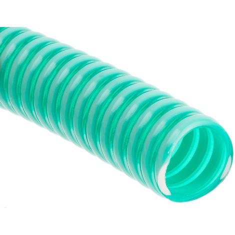 Conduit flexible RS PRO PVC renforcé Vert, longueur 10m