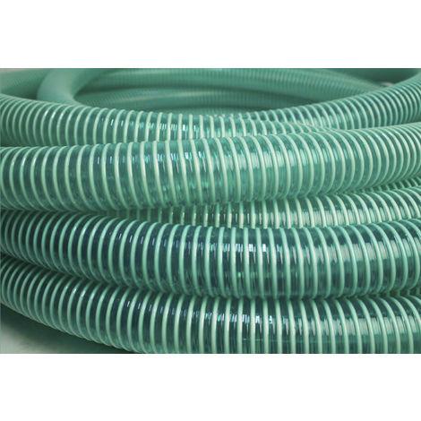 Conduit flexible RS PRO PVC renforcé Vert, longueur 10m, rayon de courbure 284mm