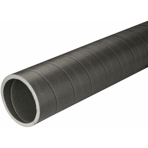 Conduit isolé pour raccordement chauffe-eau thermodynamique - Longueur : 1.00 m - Diamètre : 125