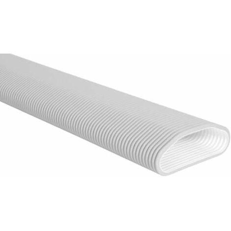 Conduit ovale antibactérien long. 20m - Optiflex / Flexigaine ALDES - 11091857 Le système de réseau de ventilation Optiflex est constitué de conduits semi-rigides spécialement adapté aux besoins dela maison individuelle. Il fait la liaison entre la centr