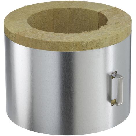 Conduit poujoulat pour poele a pellets coquille isolante plafond 80-130