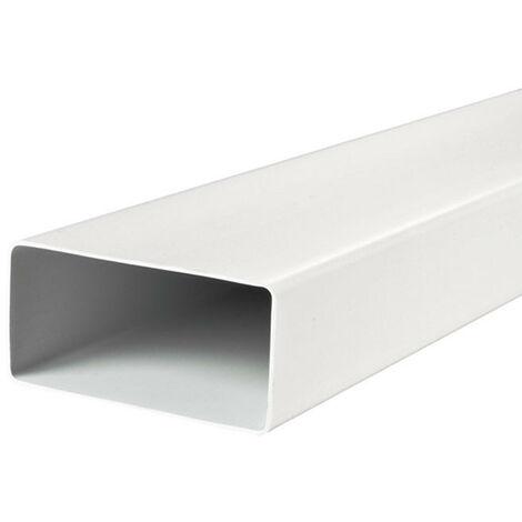 """main image of """"Conduit rectangle en PVC 55x110mm - 1500mm - Winflex Ventilation"""""""