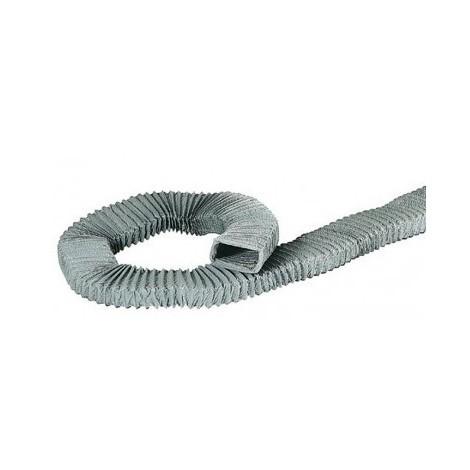 Conduit rectangulaire souple PVC Type TR B - Longueur 10m - 100x40mm