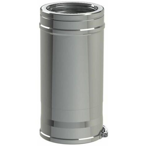 Conduit reglable Duoten Inox 316 / 304 180 - 230 mm Lg 360 a 530 mm, TEN, Ref 590188