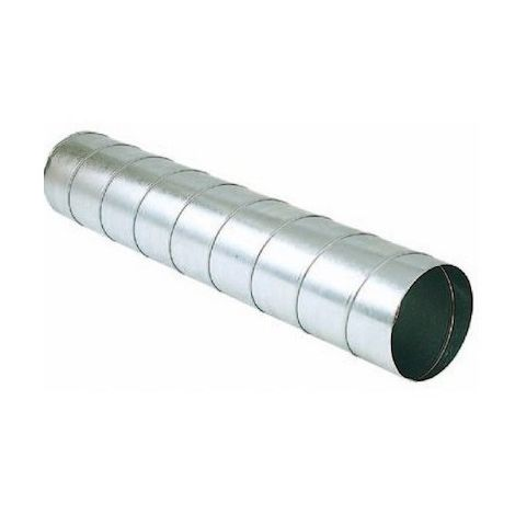 Conduit rigide galva T 125/2,47 AGR - 125mm - 2,47m