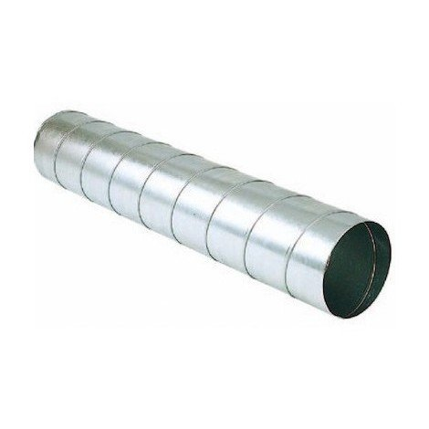 Conduit rigide galva T 250/2,47 AGR - 250mm - 2,47m