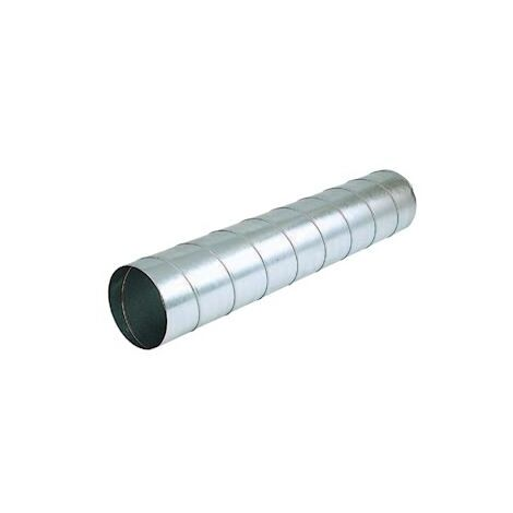 Conduit rigide galva T125/3 AGR - Diam. 125mm - 3m - Atlantic