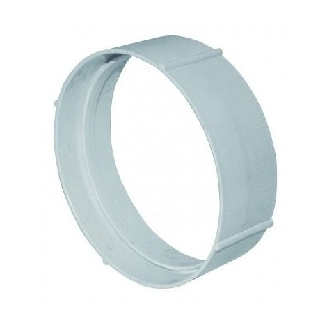 Conduit rigide plastique circ. 125 mm + accessoires