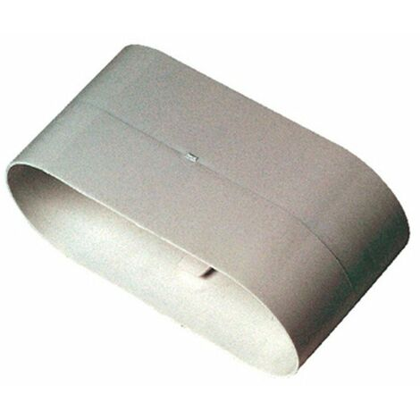 Conduit rigide plastique oblong Minigaine 40x100