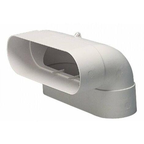 Conduit rigide plastique oblong Minigaine 40x100