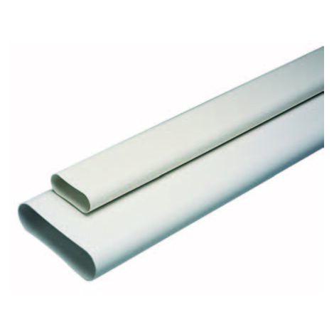Conduit rigide plastique oblong Minigaine 60x200
