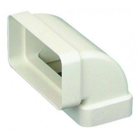 Conduit rigide plastique rectangulaire 55*110 equiv. 80/100