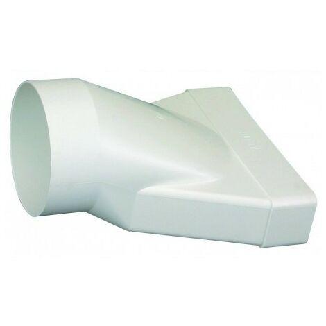 Conduit rigide plastique rectangulaire 55*220 equiv. 125