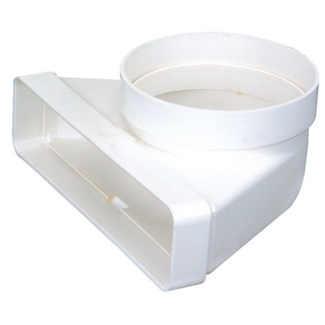 Conduit rigide plastique rectangulaire 55*220 equiv. 125
