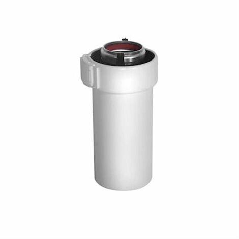 Conduit Rolux Condensation 80/125 ALU/PVC - L : 2 m