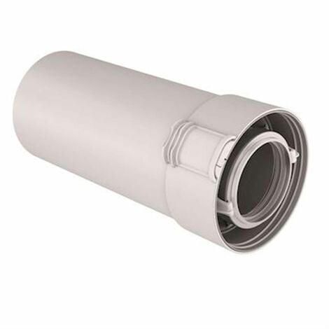 Conduit Rolux Condensation 80/125 PPTL/PVC - L : 2 m