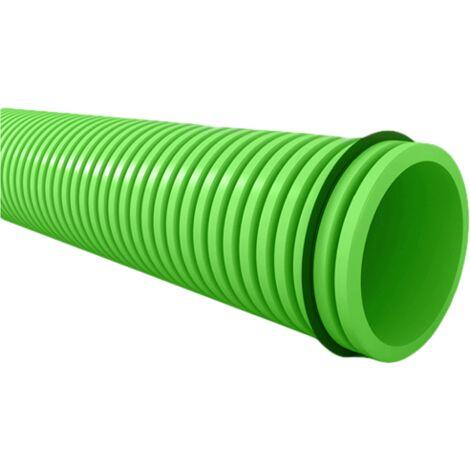 Conduit semi-flexible annelé rond D75 mm et accessoires
