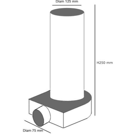 Conduit semi-flexible annelé rond Diam 75 mm au mètre ANTIBACTERIEN - EconoFlex ECONONAME - CSFAR75AB Déloté Conduit au mètre. Mettez dans votre panier le nombre de mètres dont vous avez besoin. ANTIBACTERIEN