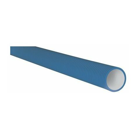Conduit semi-rigide Optiflex antistatique - Ø75 mm - Longueur 50m - Bleu