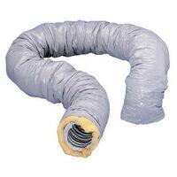 Conduit souple isolé PVC CR - Type B - Diam. 125 - Épaiss. 25 - 10m - Atlantic