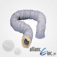 Conduit souple isolé PVC CR - Type B - Diam. 160 - Épaiss. 25 - 6m - Atlantic