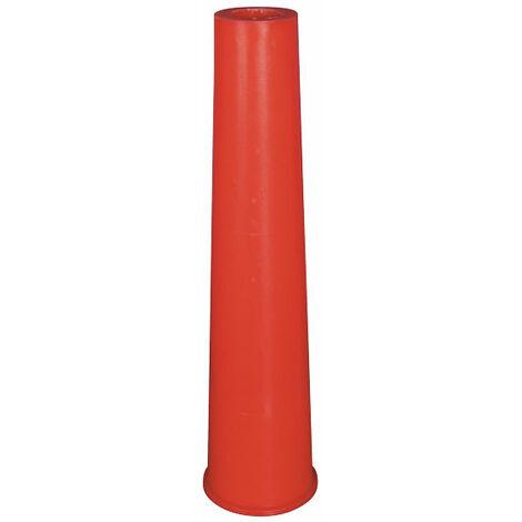 cône entretoise PVC de 25 cm (sac de 25 pièces)