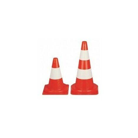 Cone signalisation blanc-rougeb30b