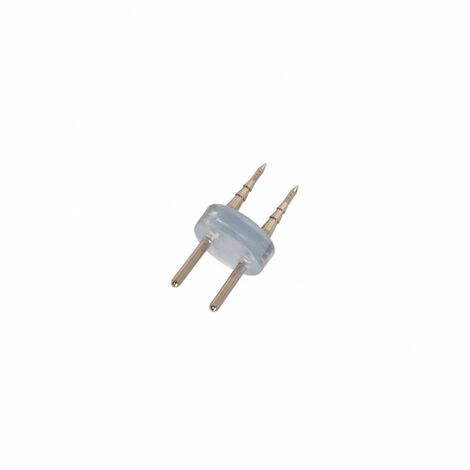 Conector 2 PIN para Manguera LED 220V AC IP65 Corte cada 100cm Blanco - Blanco