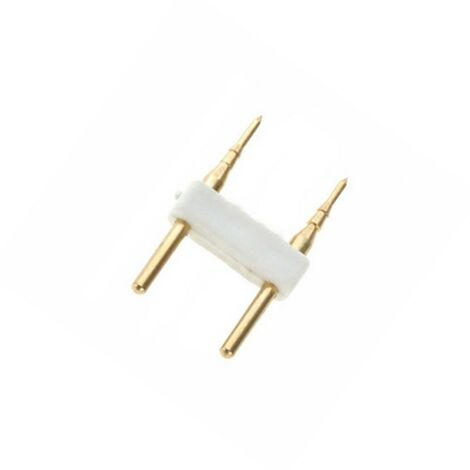 Conector 2 PIN Tira LED Monocolor 220V AC Corte cada 100cm