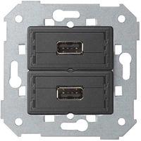 Conector 2xUSB 2.0 tipo A hembra SIMON 7501090-039