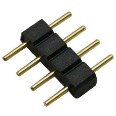 Conector 4 PIN Tira LED RGB 12/24V DC