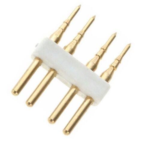 Conector 4 PIN Tira LED RGB 220V AC