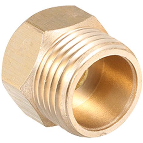 Conector adaptador de grifo, 1/2 pulg. A 3/8 pulg. 9/16 pulg