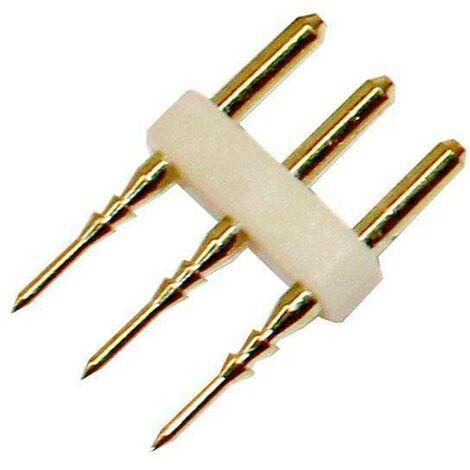 Conector alimentador tira led 220V SMD5050 DUAL