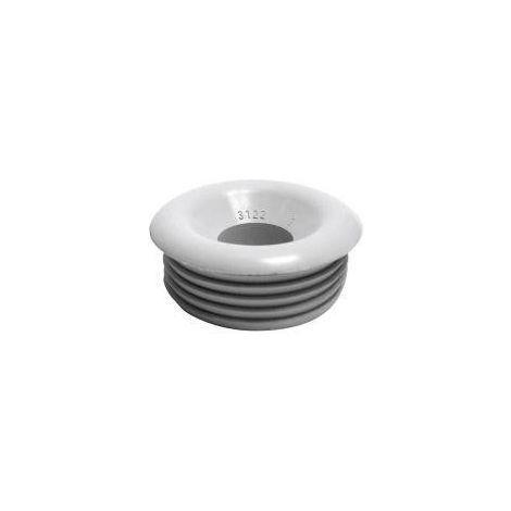 Conector del tubo de enjuague 28/32X55 mm