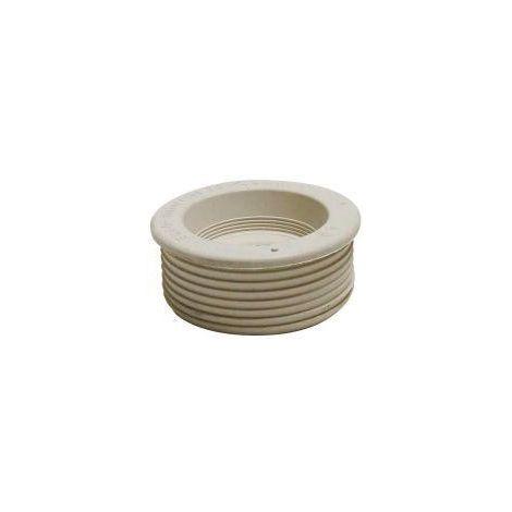 Conector del tubo de enjuague blanco 28-45 mm