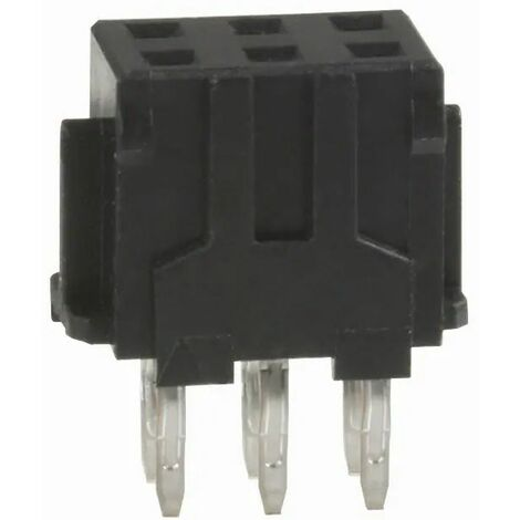 Conector DF11 Hembra 3x2 Vìas PCB