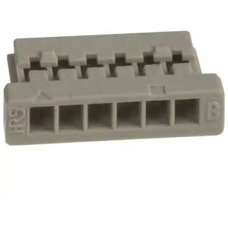 Conector DF14 macho 6 vìas