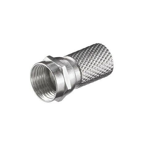 "main image of ""Conector F rosca para cable coaxial"""